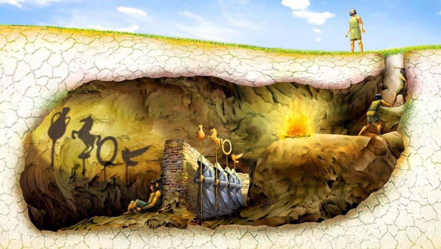mito della caverna platone